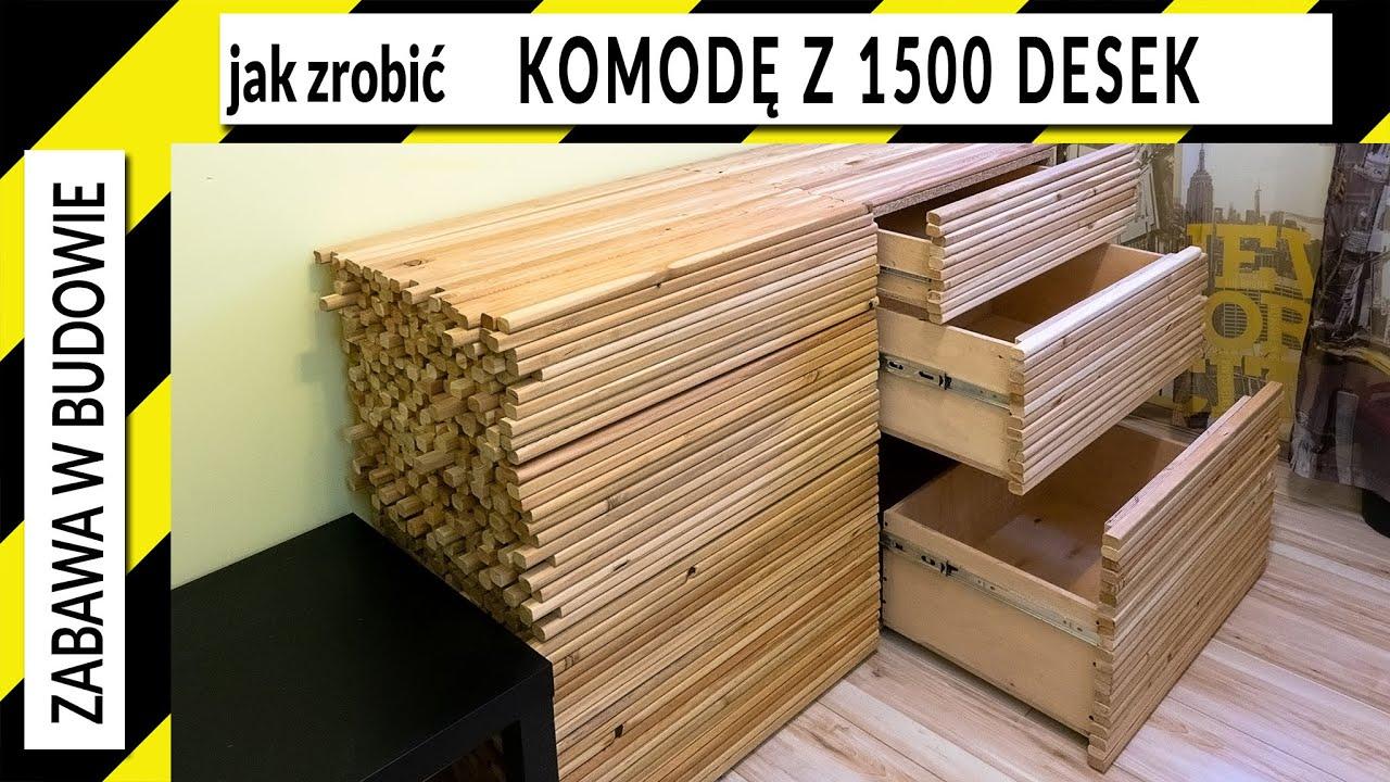 Jak zrobić komodę z 1500 desek