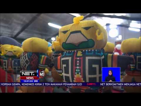 Boneka Maskot Asian Games 2018 Diproduksi Di Malang - NET 12
