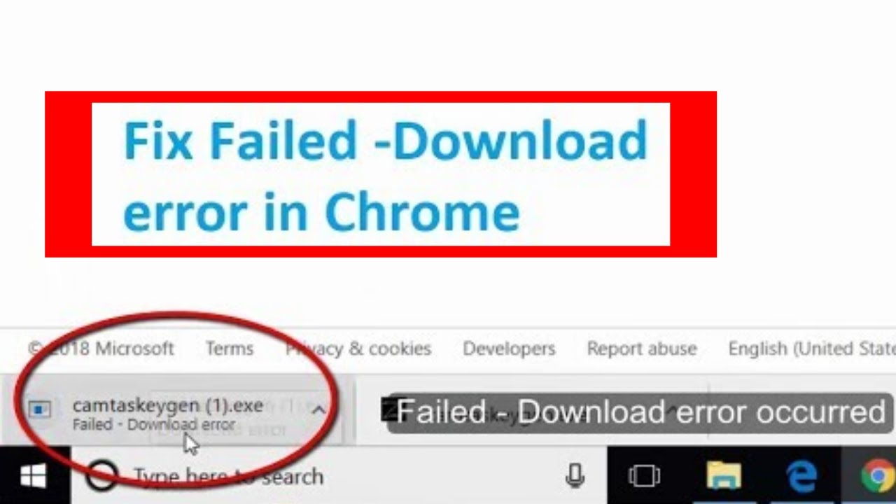 virus scan failed or virus detected chrome - fix in windows 10/7/8