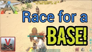 Race for a Base! | Small Tribes(Official PVP) - ARK: Survival Evolved