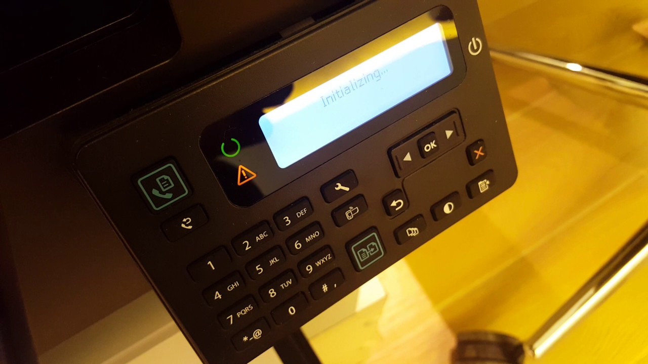HP Laserjet Pro MFP M225 - M226 printer initialisation error fix solution