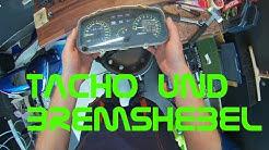 Kawasaki GPZ500S: Tacho und Bremshebel - SchrauberVlog #13