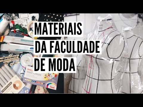 MATERIAIS DE DESIGN DE MODA - 2017