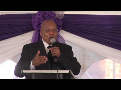 'I had hoped she would be cured' - Zuma at Ontlametse's funeral