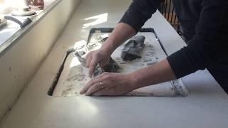 Kitchen Renovation | Concrete Countertops - Sink Form
