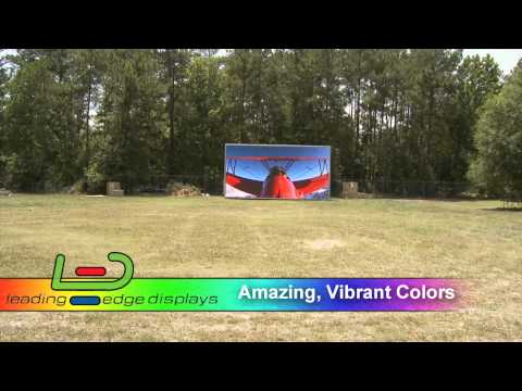 Outdoor Video Wall - Leading Edge Displays