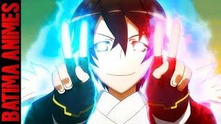 5 Animes onde o Protagonista é PREGUIÇOSO, mas é FORTE como um DEMÔNIO!