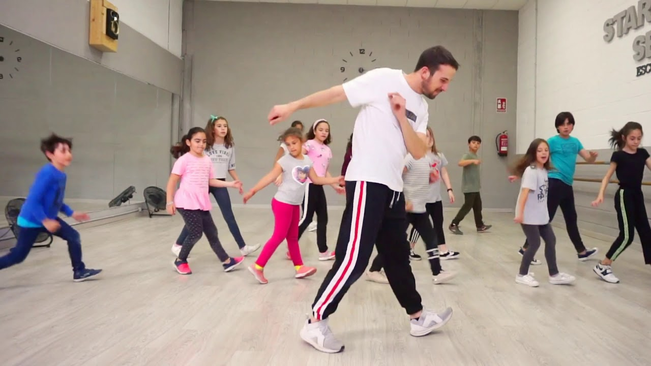 Clases De Hip Hop Infantil Con Adrián Franco Backstreet Boys Everybody Youtube