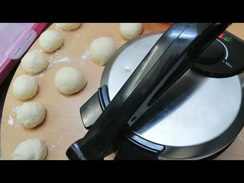 عمل خبز الصاج بالبيت🌮🌮🌮/#140من مطبخ كلشي وكلاشي