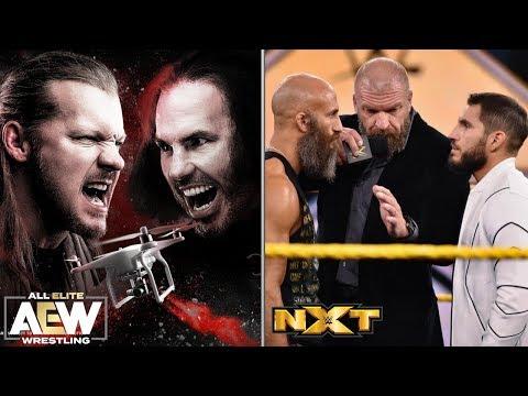 Jericho Confronte Matt Hardy! Résultats AEW Dynamite Et WWE NXT 25 Mars 2020