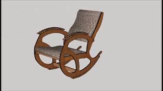 кресло качалка Своими руками Чертеж