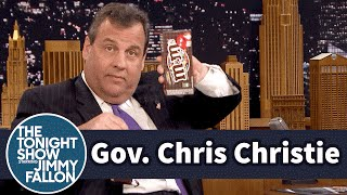 Gov. Chris Christie Defends His M&M's Eating Style