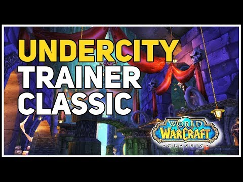 Undercity Mining Trainer WoW Classic