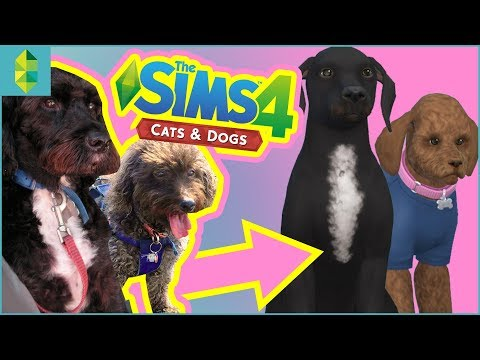 Making My REAL Pets in THE SIMS 4 CATS & DOGS!