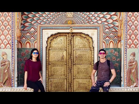 India Vlog: Jaipur Amber Palace & Fort, City Palace, Train!