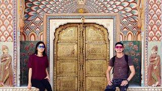 India Vlog: Jaipur Amber Palace & Fort, City Palace, Train!