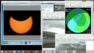 Video Solar eclipse - Eclissi Solare 20/03/2015 (Messina) download MP3, 3GP, MP4, WEBM, AVI, FLV Juli 2018
