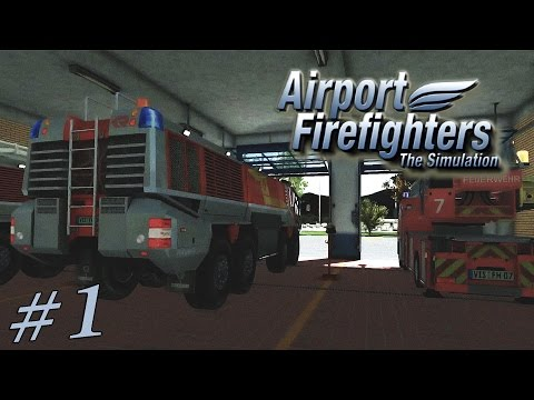Симулятор Пожарного Аэропорта - Airport Firefighters 2015 #1