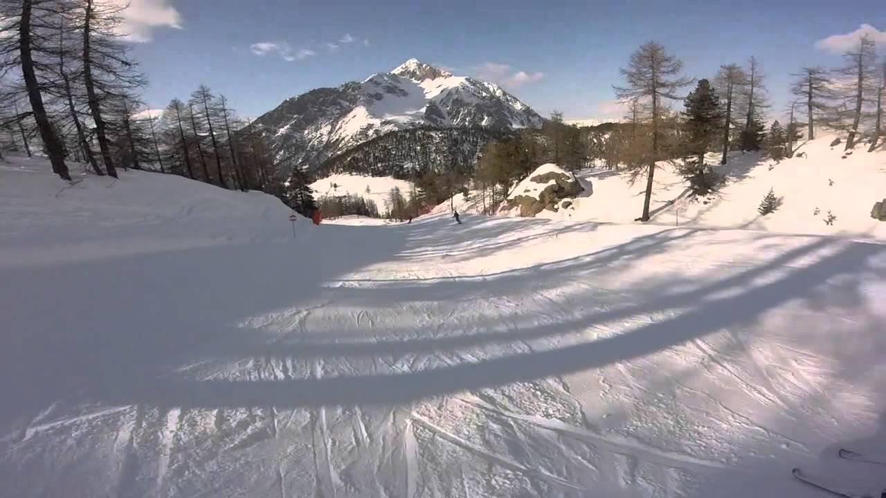 Saas fee 2016, snowboarding - gopro hero4 black edition