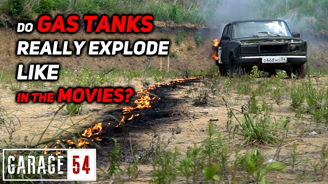 Do gas tanks really explode like in the movies?