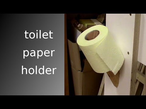 ᐉ Simple Toilet Paper Holder That Works Youtube