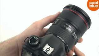 Canon EF 24-70mm f/2.8 L USM II videoreview en unboxing (NL/BE)