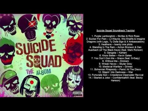 Suicide Squad Soundtrack Tracklist