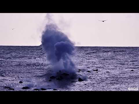 Underwater volcano eruption observed off the coast of El Hierro