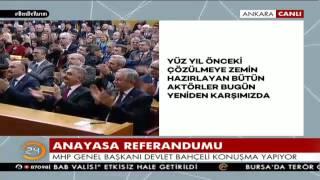 Bahçeli: CHP, HDP, FETÖ, PKK, DHKP-C niye 'Evet' diyorsunuz diyorlar, size mi soracaktık