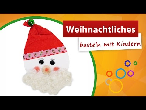 Weihnachtliches Basteln Mit Kindern ★ Nikolaus Bastelidee - Trendmarkt24