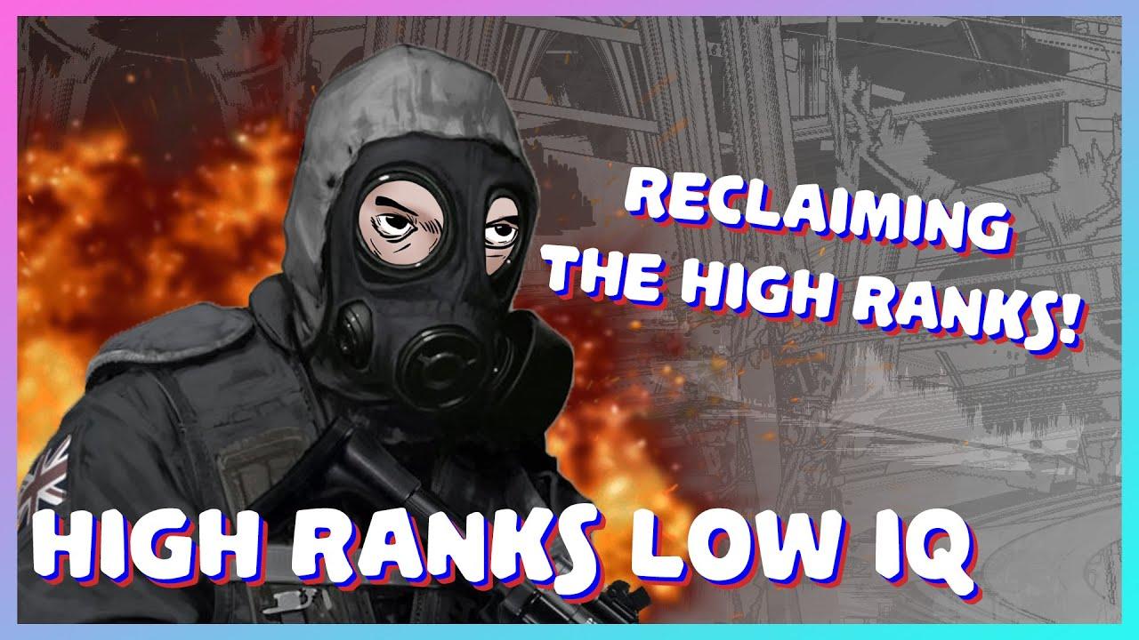 Reclaiming the high ranks - Reclaiming the high ranks