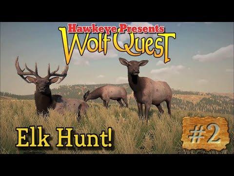 Hawkeye Presents: Wolf Quest - Elk Hunt!