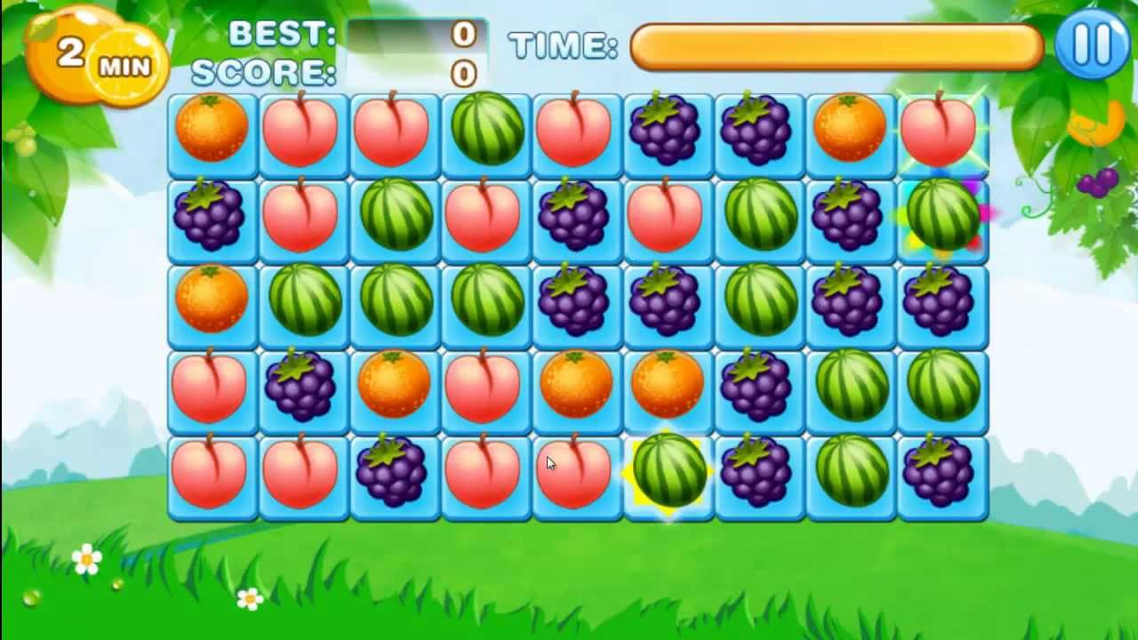Bubble fruits game - Fruits Break For Android Gameplay