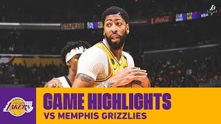 HIGHLIGHTS | Anthony Davis (28 pts, 13 reb, 4 ast, 7 blk) vs. Memphis Grizzlies