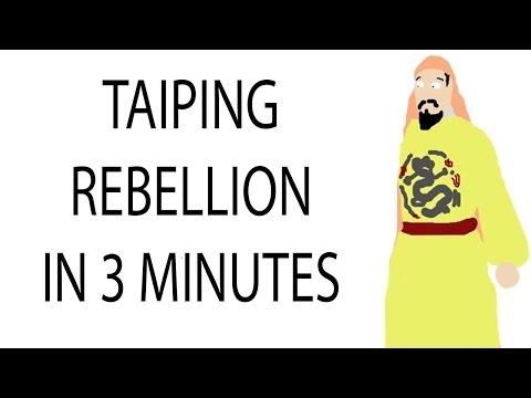 Taiping Rebellion  3 Minute History