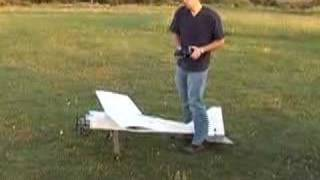 Rc plane powered by a 31cc Ryobi Weedeater engine