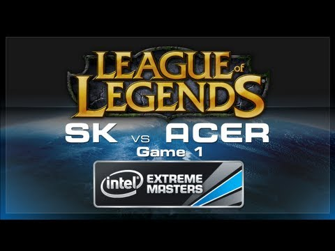 LoL Gamescom - SK Gaming vs Acer Game 1 - European Regionals