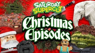 Every Annoying Orange Christmas Video! [Saturday Supercut🔪]