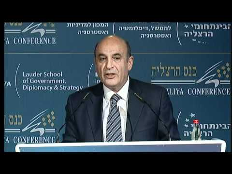 MK Shaul Mofaz Speaking at the Herzliya Conference 2011