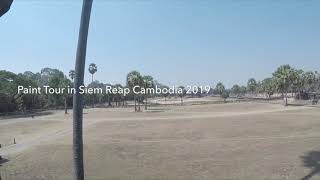 Paint tour in Siem Reap Cambodia 2019.2