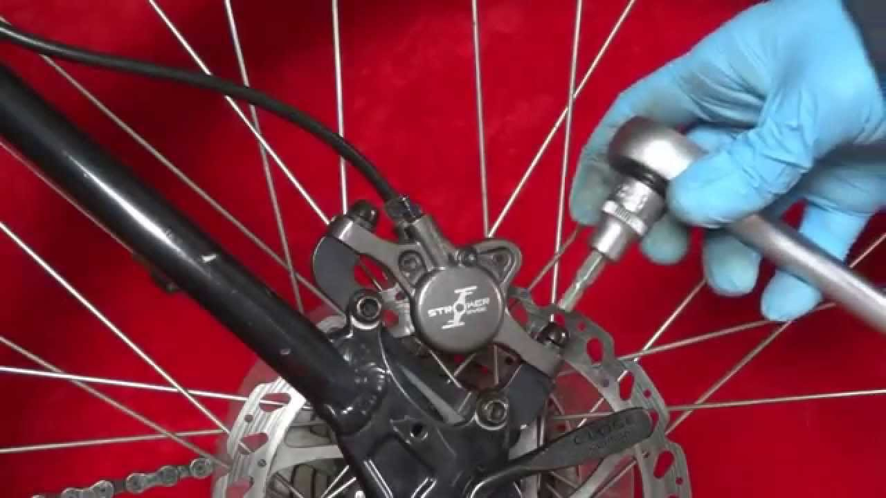 How to Change Disc Brakes on a Bike