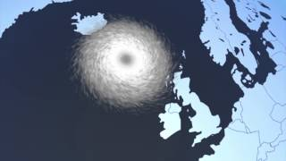 'Weather bomb' hits Britain with 80 mph winds and 40-foot waves, amber alert issued for Scotland