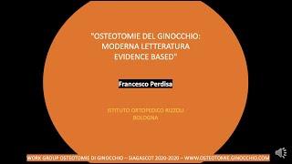 evidence based medicine per le osteotomie moderne
