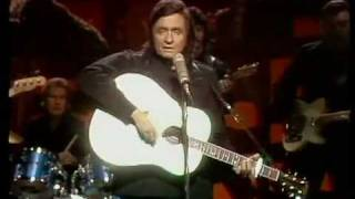Johnny Cash singing City of New Orleans