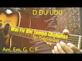 Mai Phir Bhi Tumko Chahunga - Half Girlfriend Guitar Tutorial/Lesson/Chords For Beginners