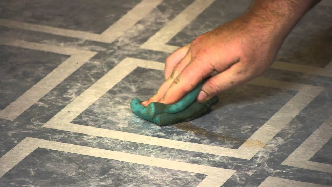 How To Remove Yellow Stains From Floor Tile Flooring Maintenance - Linoleum floor stain removal