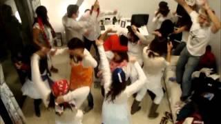 Harlem Shake Fiesta blanca