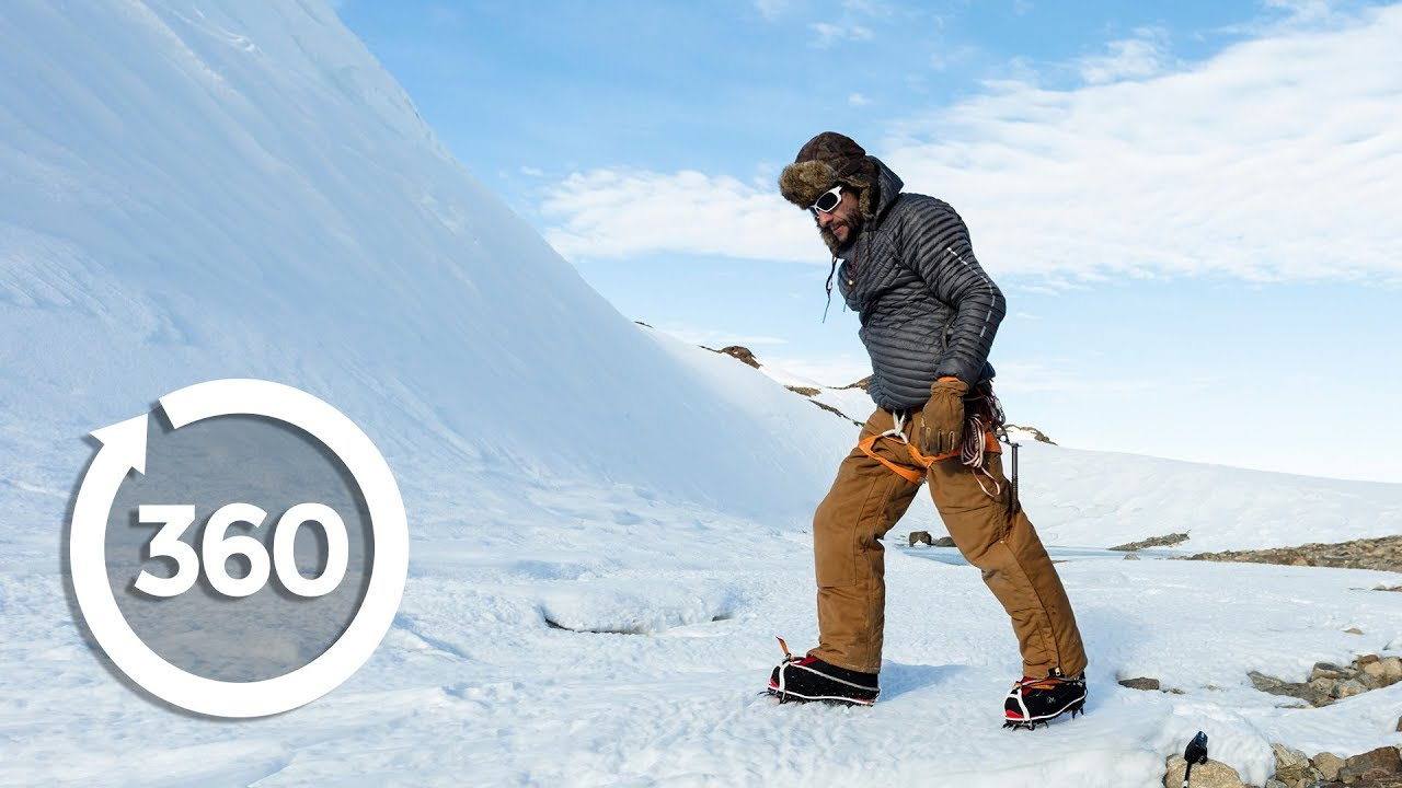 As I Walked Onto Ice I Kept In Mind >> Living On Ice Antarctica 360 Vr Video Discovery Trvlr Youtube