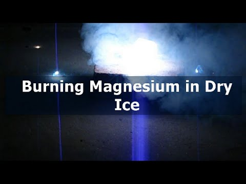 Burning Magnesium In Dry Ice! | Magnesium Thermite