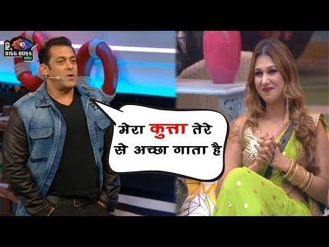 Bigg Boss 12 : Salman Khan Said To Jasleen 'My Dog Sings Better Than You'  BB 12